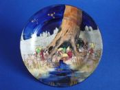 Royal Doulton 'Gnomes B' or 'Munchkins' Small Rack Plate D4697 c1928